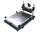 QS-4460 large-scale manual screen printing station