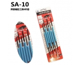 SA-10 6 pieces of welding tools with 6 sets
